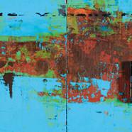 003, The Memory, 97.5 x 33.5 cm, 아크릴, 유화