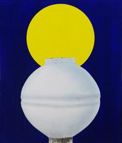 오관진4, 비움과 채움(복을담다), 45 x 53 cm (10F), 한지
