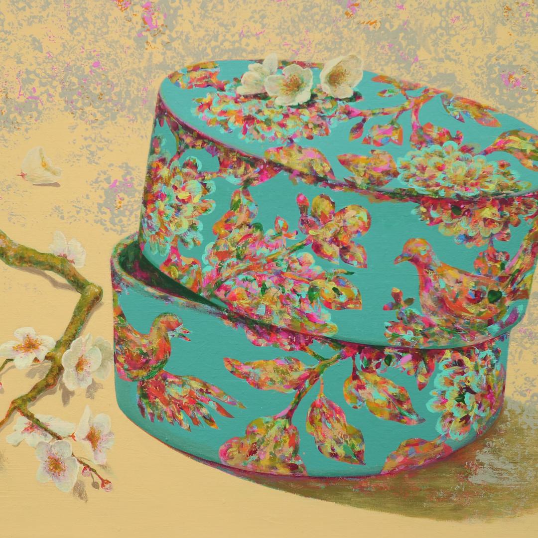012, 봄날의 외출 72.7cm×60.6cm Acrylic on Can