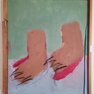 018, 최우, untitled, 53.0 x 45.5 cm, oil o