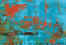 The Memory, 57 x 40 cm, 아크릴, 유화 및 혼합재료, 2017