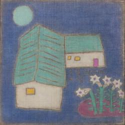 조수정, 007, 달빛 푸르름, 50.7 x 50