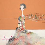 012. 최경자, Alpha Girl 1933, 20 x 20 cm, 한