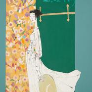 015. 최경자, Alpha Girl 1925, 38.0 x 45.5 c