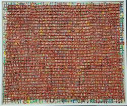 020, 김형길, 제일이라 210321, 60.6 x 72.7 cm, 캔버스에 혼합재료, 2021, 600만원