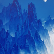 005, 금강산, 61 x 73 cm, acrylic on canvas,