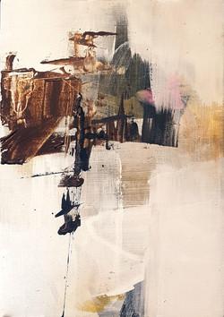011, 연상록, 기억의 소환(적벽강 겨울에서 봄으로), 24 x 35