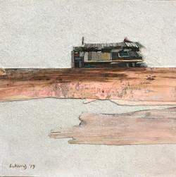 014, 이부강, trace skyline 3, 30 x 30 cm, M