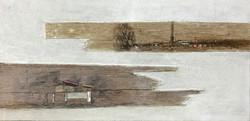 이부강4-2, trace layers, 20 x 40 cm, mixed