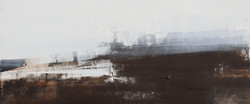 004, 기억의 소환-冬, 37 x 90 cm, 캔버스에 유화물감, 20