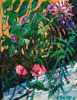 민해정수6, 왕숙천 풍접초, 53 x 65 cm, oil on canva