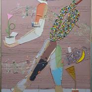 017, 김형길, 제일이라20-01, 116.8 x 91.0 cm, 캔버