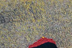 김재신, 동피랑이야기, 122x82cm, mixed material, 2015