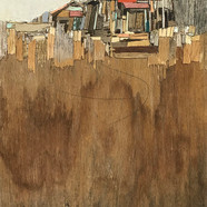 007, 이부강, moved landscape(소금창고13), 20 x