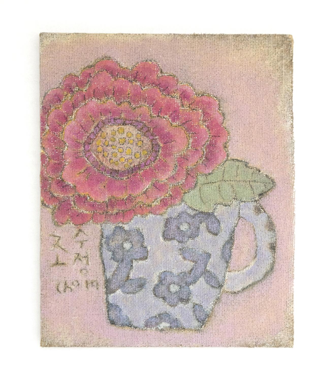 조수정3, 머그에 라넌쿨러스, 41 x 51 cm (10호), 황마캔버스