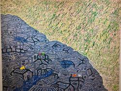 009, 김재신, 동피랑이야기, 116.5 x 90