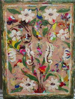 048, 황미정6, 모로코 꽃 문양 II, 31.8 x 40