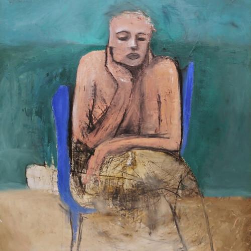 012, 최우, Solitude 1, 72.7 x 90.9 cm, oil