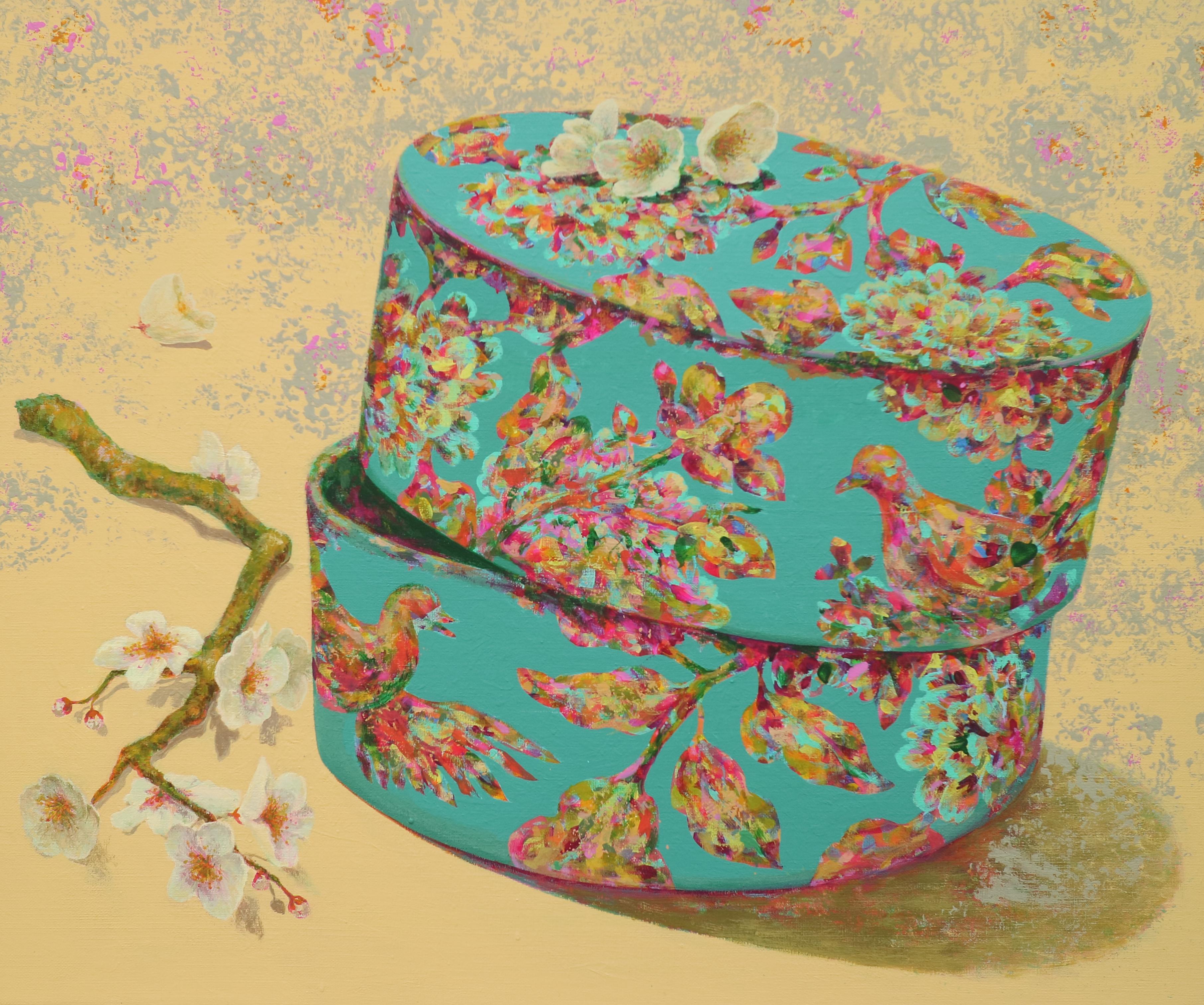 봄날의 외출 72.7cm×60.6cm Acrylic on Canvas