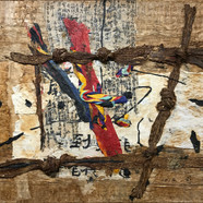 012, one's home town 1862, 80 x 100 cm,