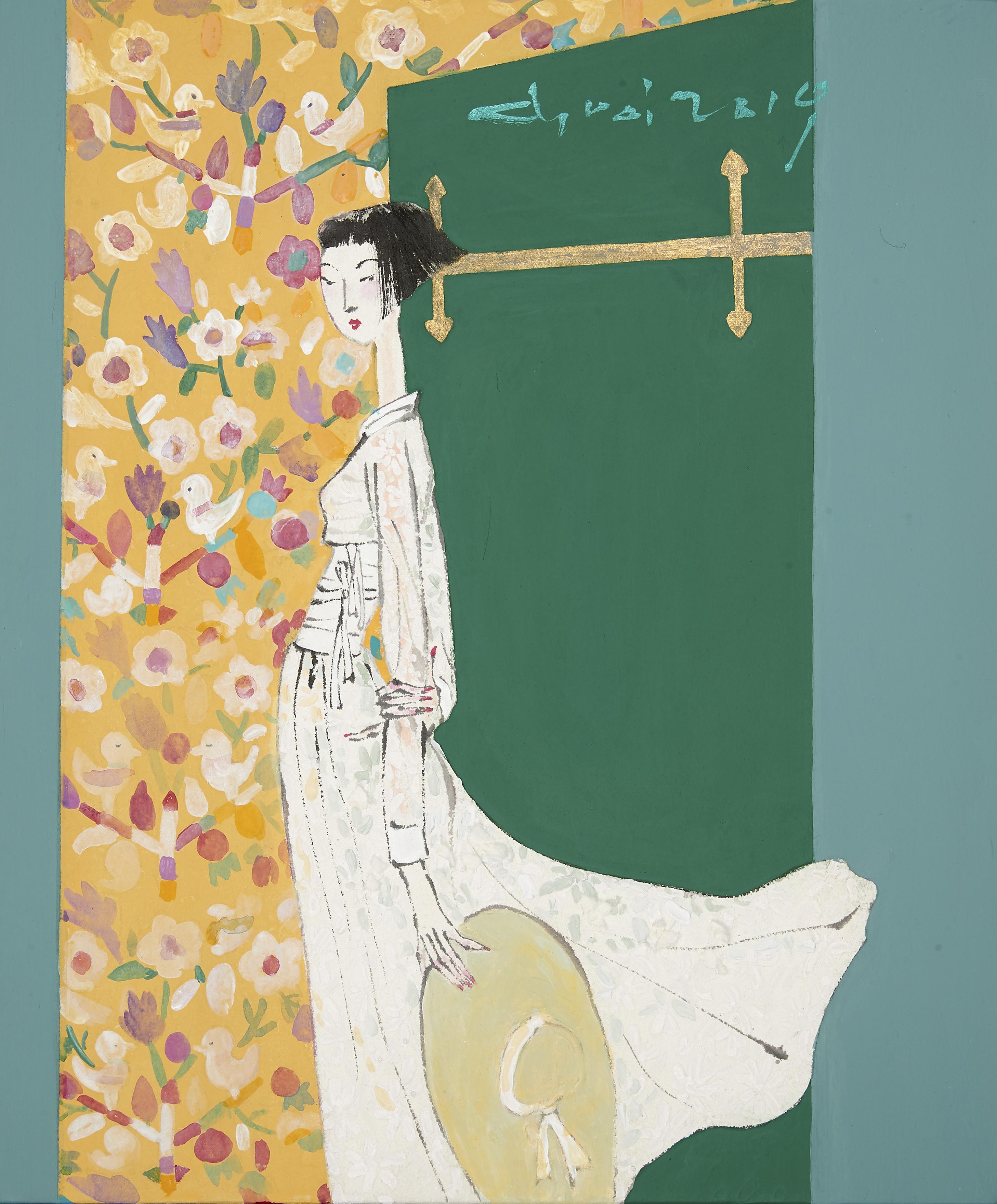 최경자3, Alpha Girl 1925, 45.5 x 38