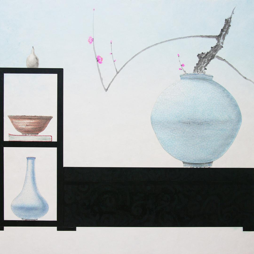 020, 오관진, 비움과 채움(복을담다), 65.0 x 80.5 cm,