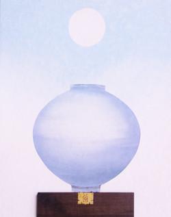 2016,비움과채움(복을담다),73x91,혼합재료.