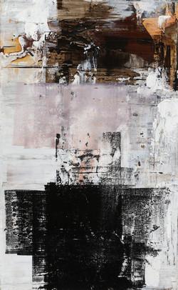 021, 춘하추동-적벽강의 겨울서정冬-, 45 x 30 cm, 캔버스에