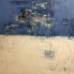 012, 이윤정, Winter Note 103, 112 x 112 cm,