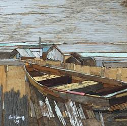이부강3-1, moved landscape22, 20 x 20 cm, M