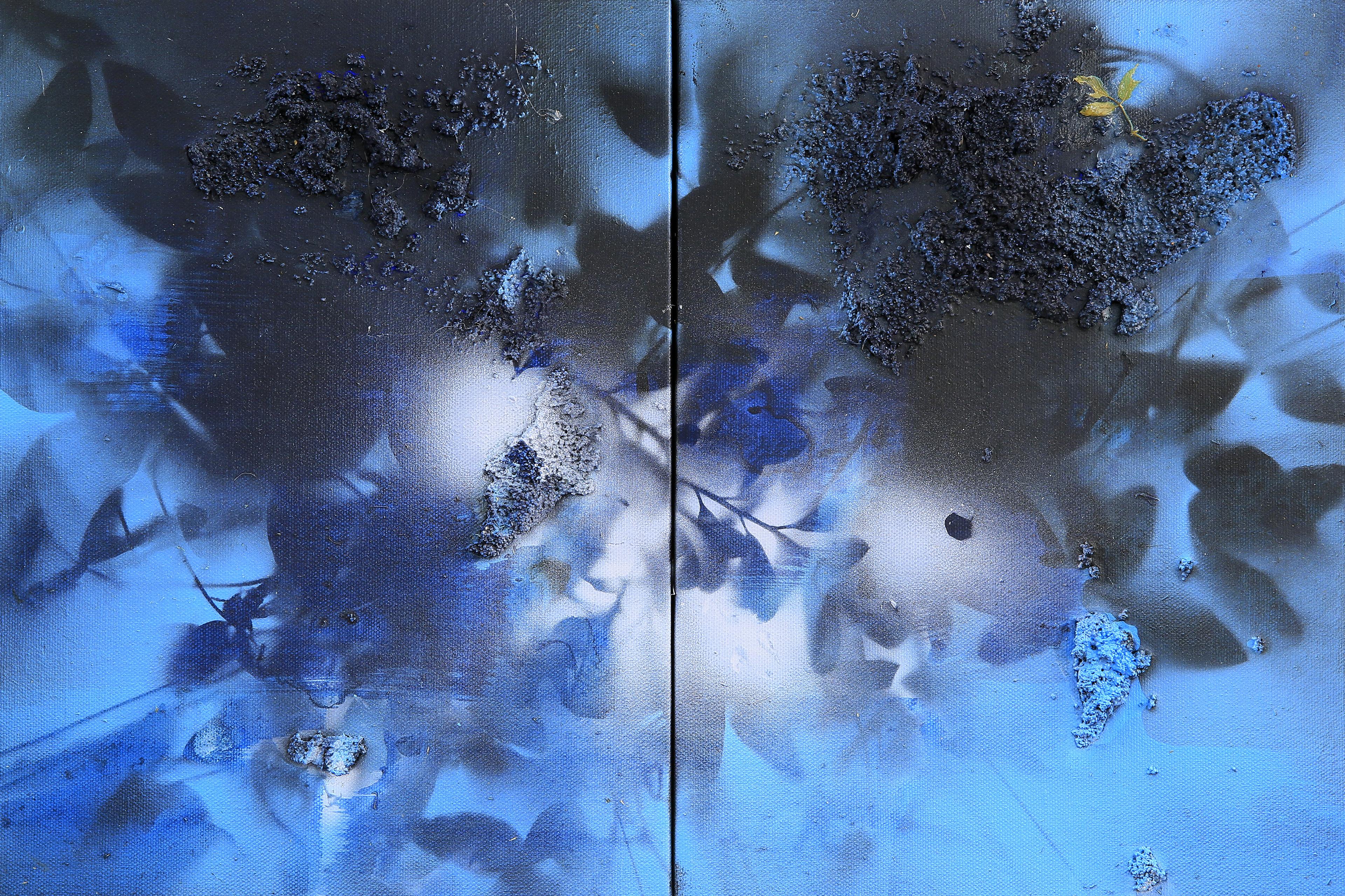 연상록-숲,빛,바람의 숨결, 53x45.5cm, 2015, Acrylic on canvas_2