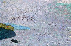 통영풍경(2)_통영풍경, 146x97cm, 조탁기법, 2018