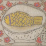 조수정, 003, 마음 그릇, 40.5 x 30.5 cm, 황마캔버스에