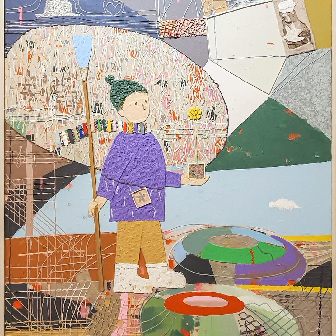 001, 김형길, 제일이라20, 116.8 x 91.0 cm, 캔버스 위