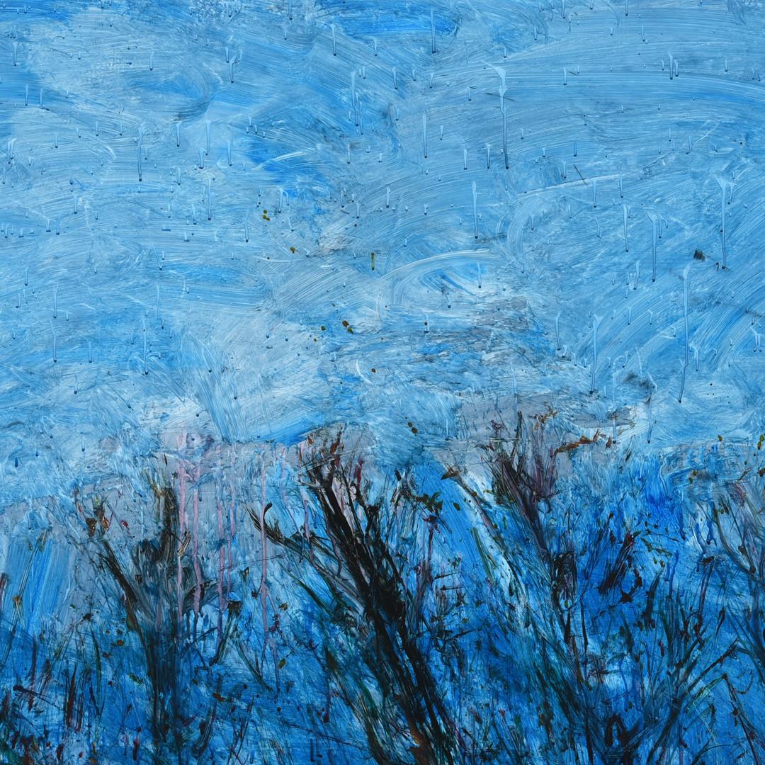018, 정의철, 밖에 비온다 주룩주룩, 100.0 x 80.3 cm,