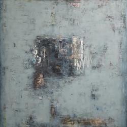 004, 이윤정, Winter Note 105, 97 x 97 cm, O