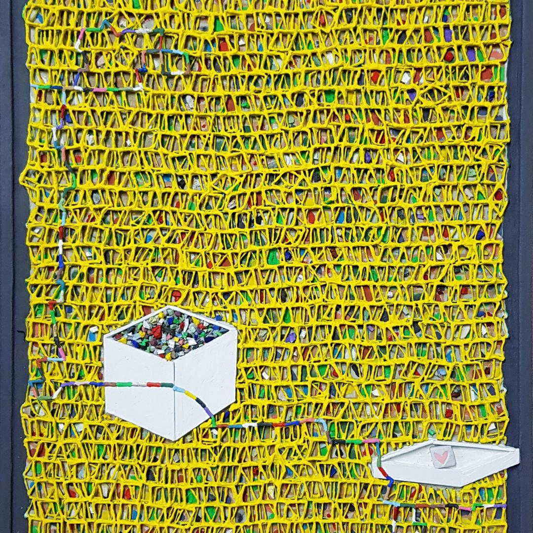 019, 김형길, 제일이라20, 53.0 x 45.5 cm, 캔버스 위에