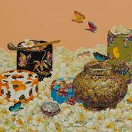007 이지적인 그녀72.7x60.6cm Acrylic on canvas