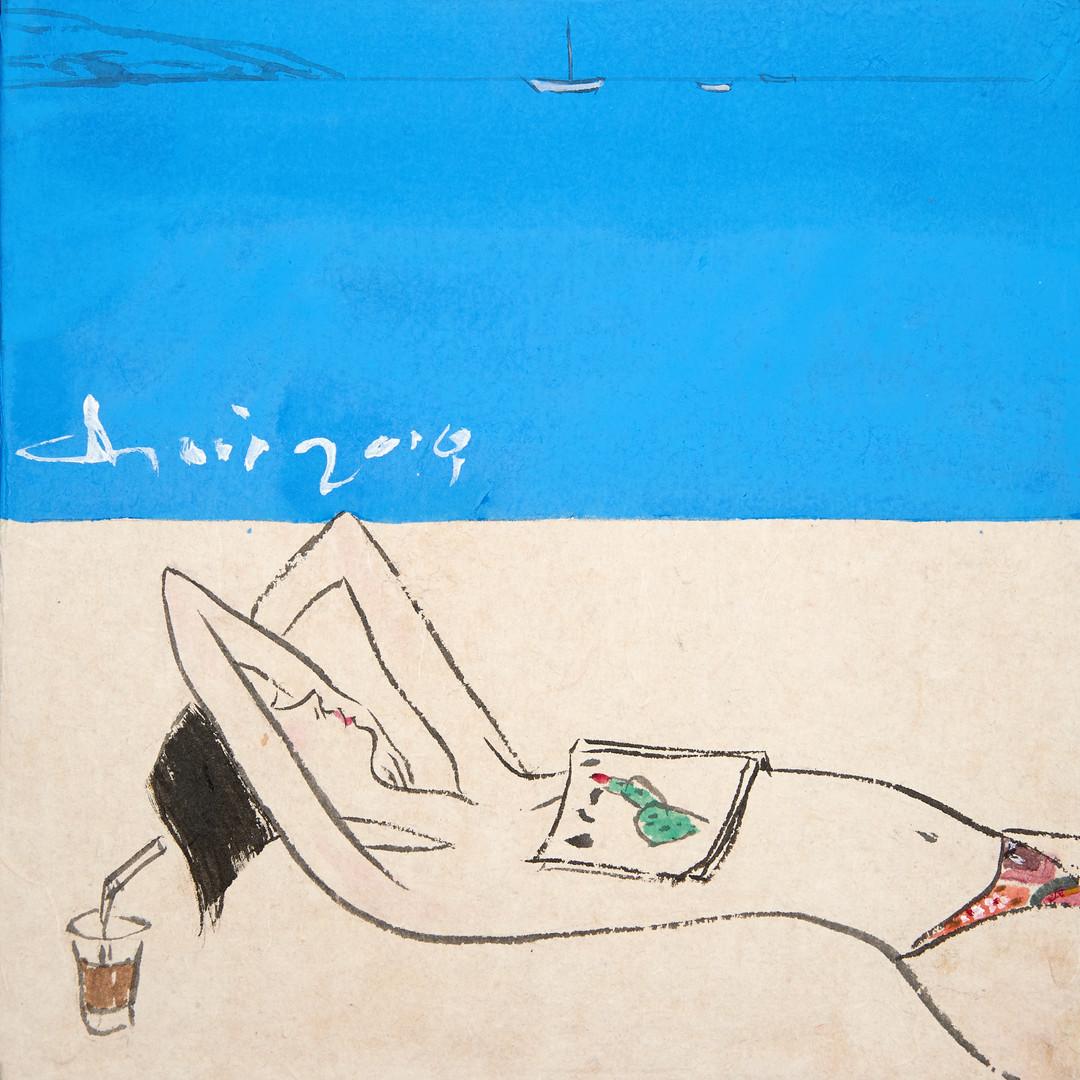 009. 최경자, Alpha Girl 1936, 20 x 20 cm, 한