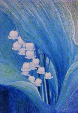 이미경2, 은방울 꽃-틀림없이 행복해질꺼예요, 37 x 53 cm, oi