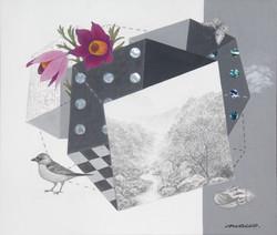 조현동1, 자연-경계 (무릉계곡), 45.5 x 53