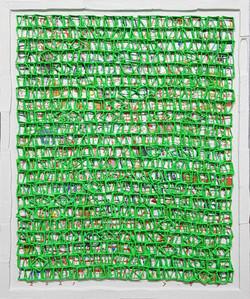 019, 김형길, 제일이라, 45.8 x 38.0 cm, 캔버스에 혼합재료, 2021, 240만원