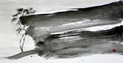 송승호 4 채석강을 거닐다, 34x68
