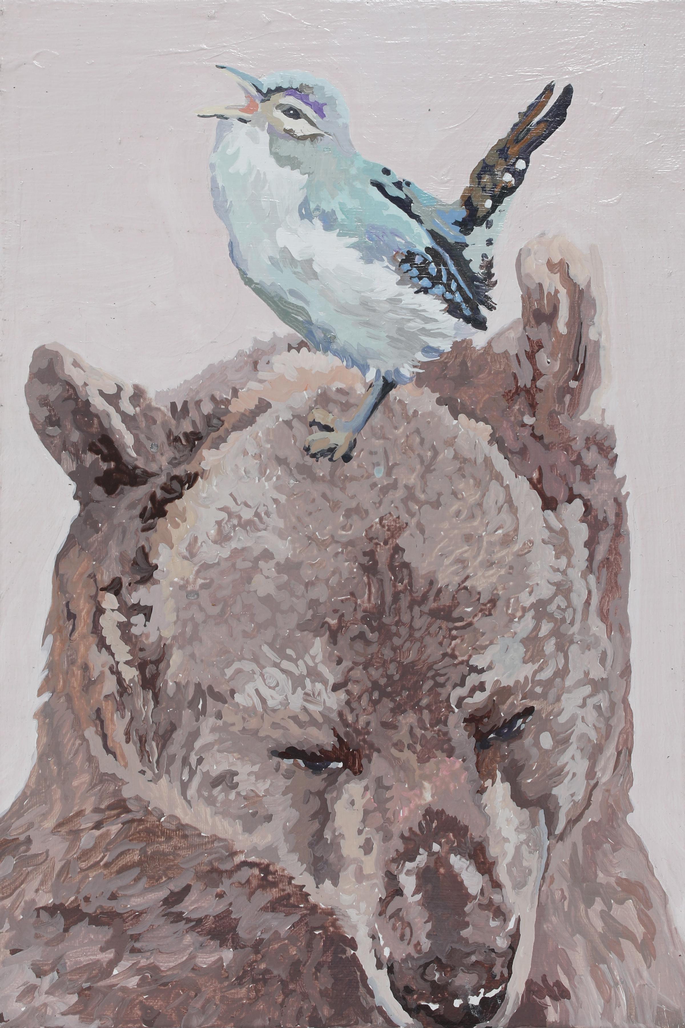 024, 박계숙, 나르시스의 정원-7, 23 x 34 cm, 캔버스에 아