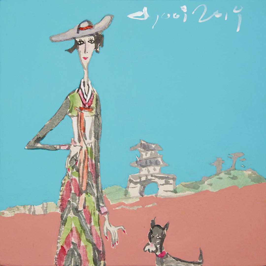 010. 최경자, Alpha Girl 1931, 20 x 20 cm, 한