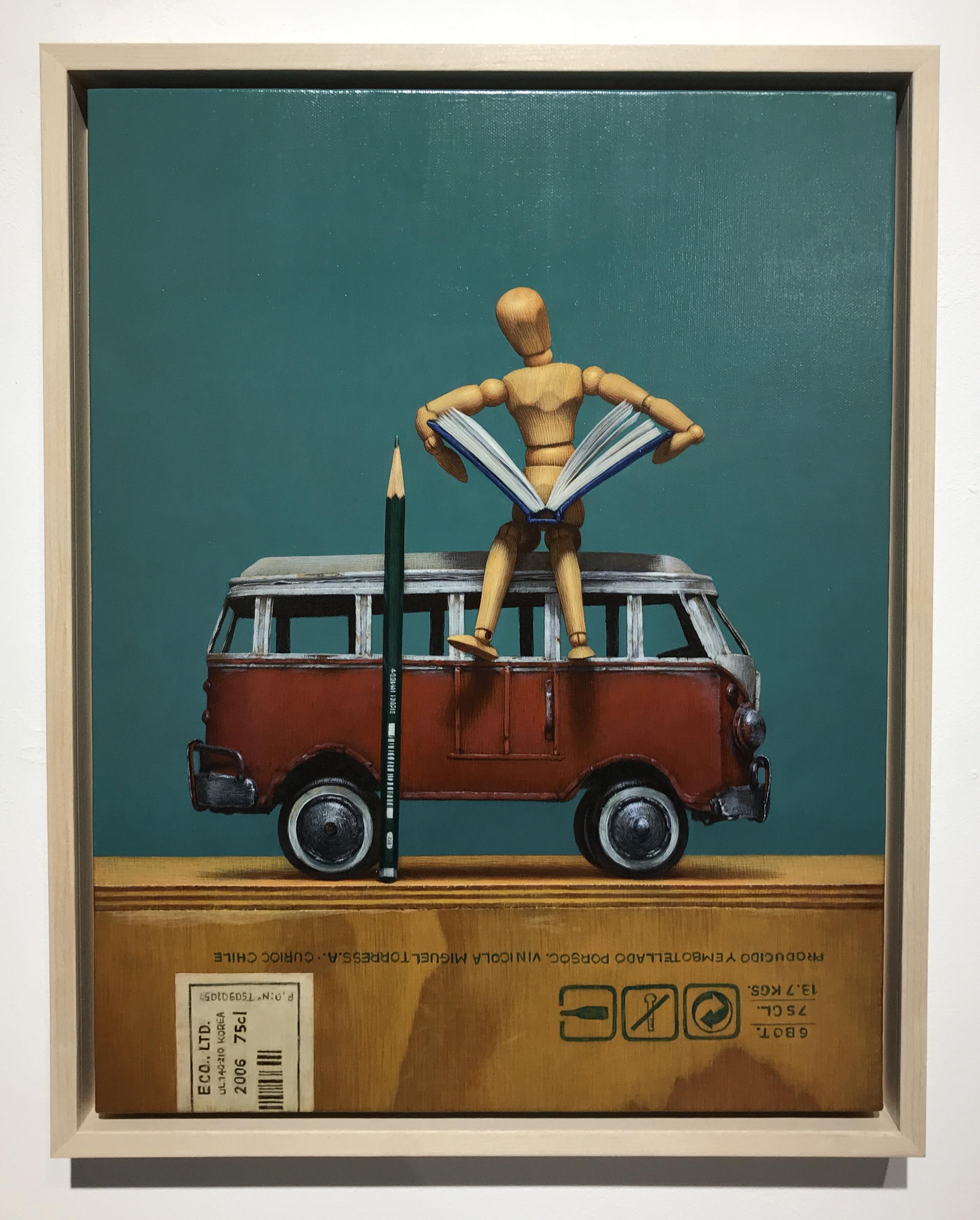 021, 장필교, 독서, 31.8 x 40