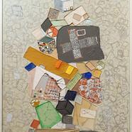 002, 김형길, 제일이라20, 116.8 x 80.3 cm, 캔버스 위