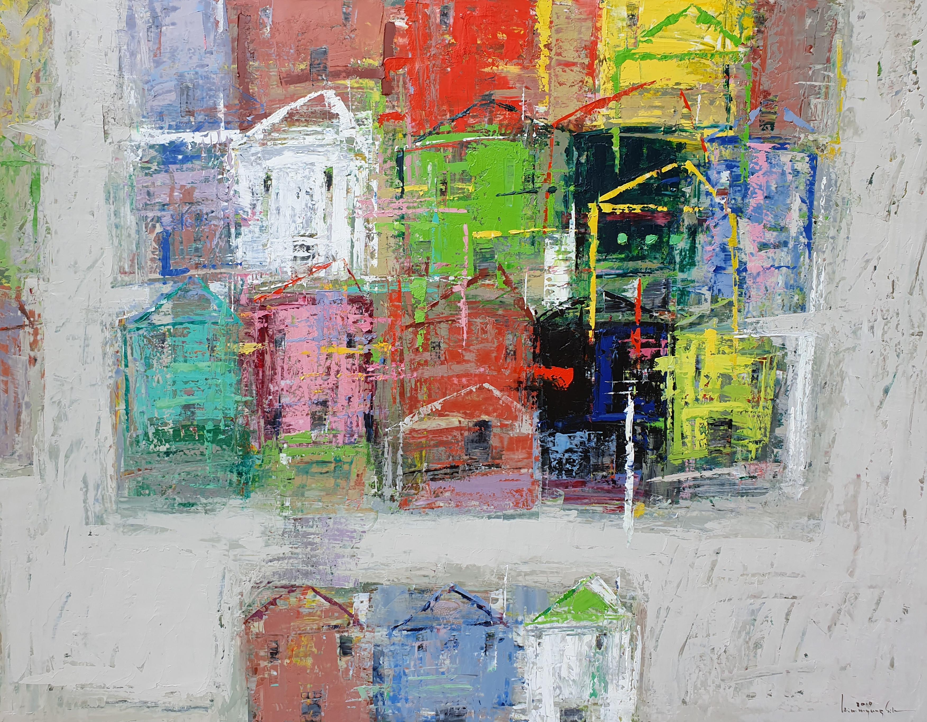 009, 김명식, East Side19-JU02, 116.8 x 71