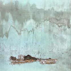 011, 이부강, moved landscape(소금창고14), 70 x