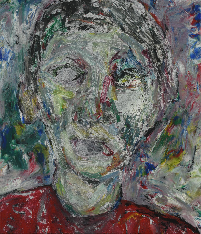 정의철1, 낯 23, 53 x 45 cm, Acrylic, 2019